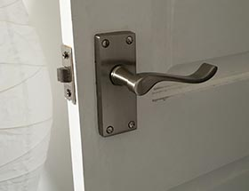 House Door Locking System